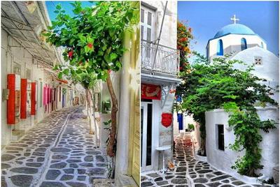 Paros Beautiful Alleys of Paros horzs